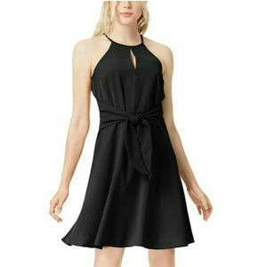 Bar lll BOHO sunset black dress